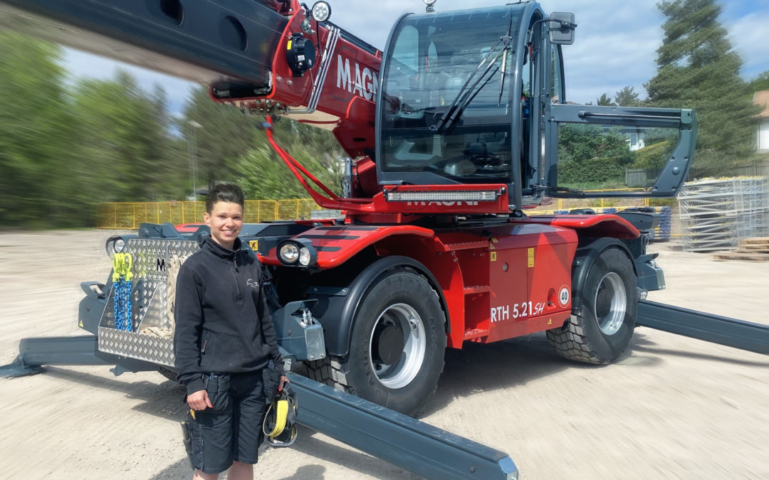 Magni RTH 5.21 SH to Aros Mobilkranar in Sweden