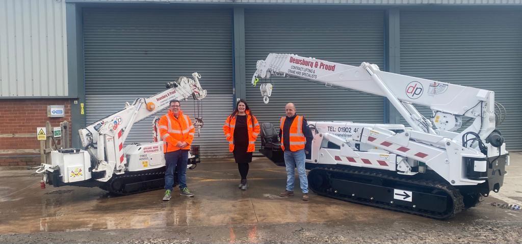 Maeda Mini Cranes are going strong in the United Kingdom