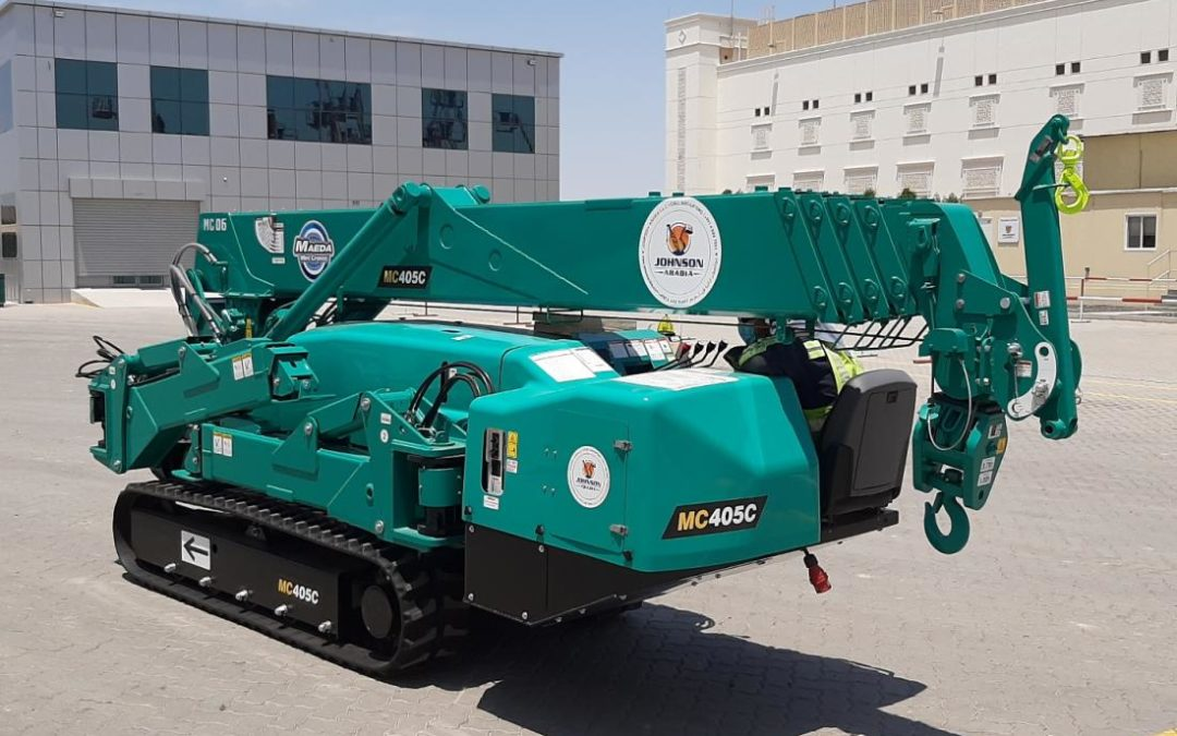 Johnson Arabia expands with Maeda Mini Cranes