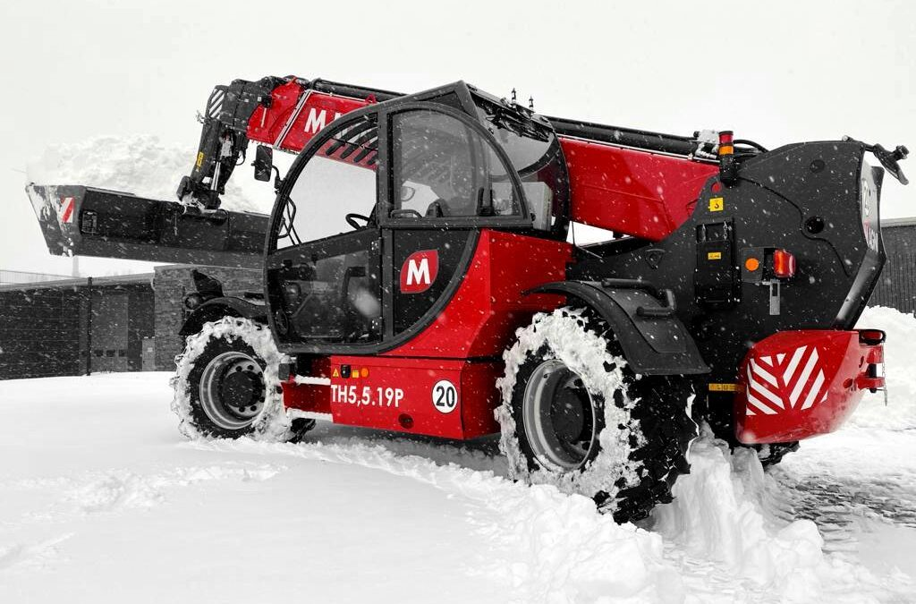 Telescopic Handlers from Magni are advancing further
