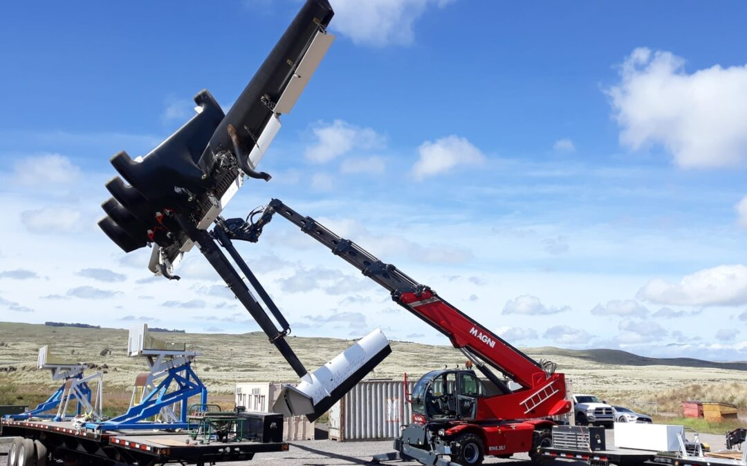 Magni telehandler used in 13-year innovation project